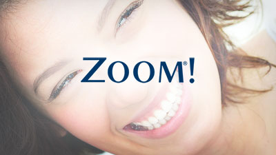 zoom teeth whitening dentist